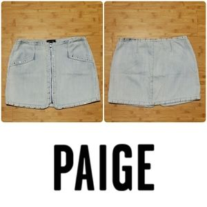💐Ready for spring💐 Paige Rosie jean mini skirt